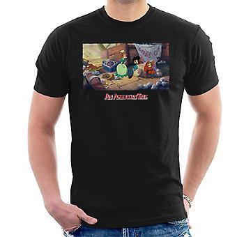 An American Tail Bridget Gives Fievel A Home Men's T-Shirt