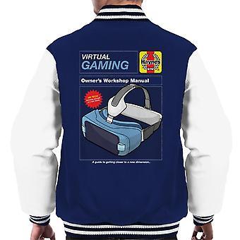 Haynes Virtual Gaming Workshop Manuell Män & Apos; s Varsity Jacket