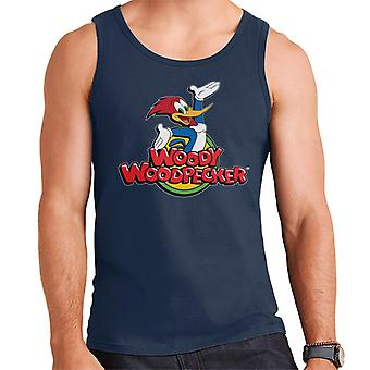 Woody Woodpecker Classic Logo Hombres's Chaleco