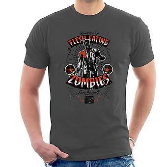 Resident Evil Flesh Eating Zombies Men's T-Shirt