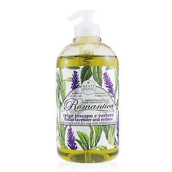 Romantica Opwindende hand en Face soap met Verbena Officinalis - Lavendel en verbena - 500ml/16.9oz