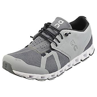 On Running Cloud Mens Running Trainers in Slate