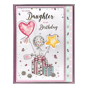 ICG Ltd For A Special Daughter On Your Birthday Boxed Gifts Large Card