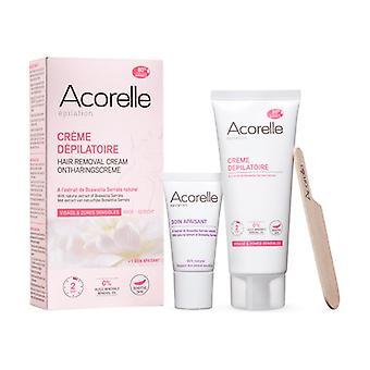 Face and Sensitive Areas Depilatory Cream 75 ml of cream
