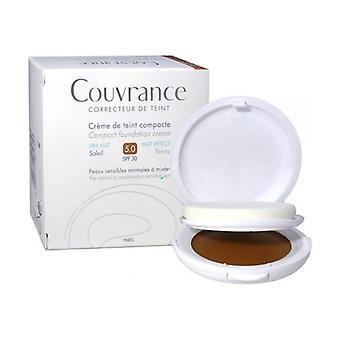 Couvrance oilfree cream colored compact color 05 10 g of powder