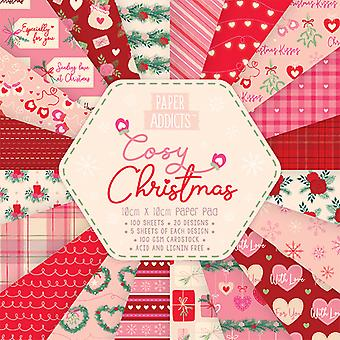 Paper Addicts Cosy Christmas 10x10cm Paper Pad