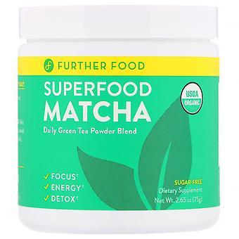 Further Food, Superfood Matcha, 2.65 oz (75 g)