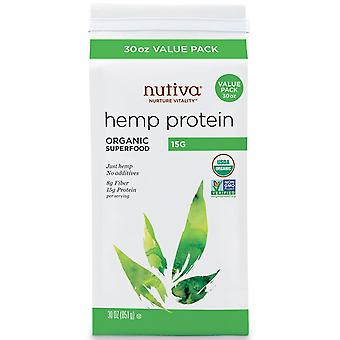 Nutiva, Organic Hemp Protein, 1.87 lbs (851 g)
