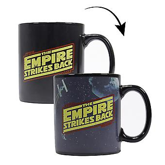 Star Wars Thermal Effect Cup The Empire Strikes Back Black, Printed, 100% Ceramic, Socket÷gen approx. 325 ml.