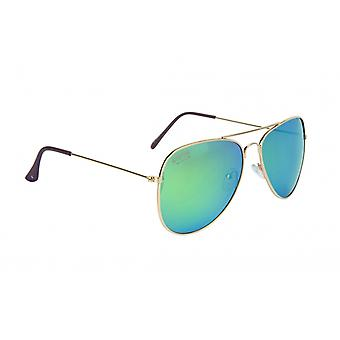 Sunglasses Unisex Pilot Cat.3 Gold (022-0068)