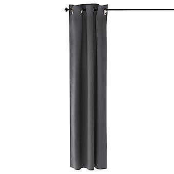 Furinno Collins Blackout Vorhang 42X84 In. 2 Panels, Dunkelgrau