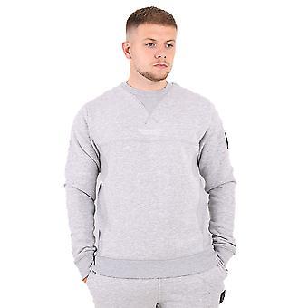 Marshall Artist Siren Crew Neck Sweatshirt - Grey Marl