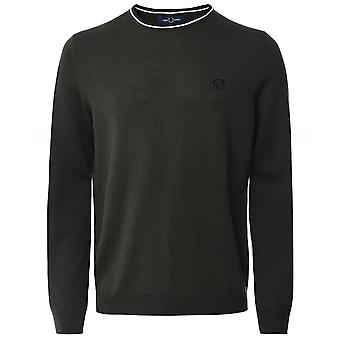 Fred Perry Classic Tipped Crew Neck Jumper K9601