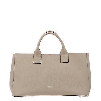 Avenue 67 Sharon3 Women's Beige Leather Handbag