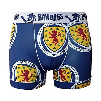 Bawbags Cool De Sacs Skotlannin maajoukkue nyrkkeilijöiden shortsit - Multi