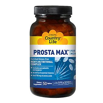 Country Life Prosta-Max For Men NF, 100 Tabs