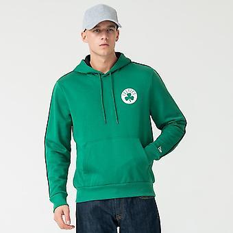 New Era Nba Boston Celtic Striped Green Hood