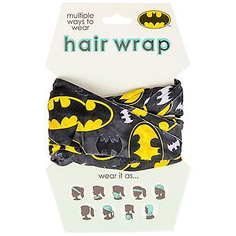 Batman Classic Symbol Face Mask and Hair Wrap