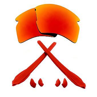 Náhradné šošovky & Kit pre Oakley Flak 2,0 XL Červené zrkadlo & Red Anti-Scratch Anti-Oslnenia UV400 od SeekOptics