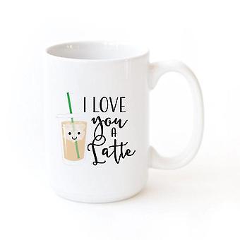I Love You A Latte-mug