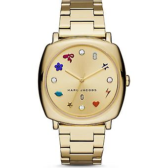 Marc Jacobs MJ3549 Ladies Mandy Gold-Tone Three-Hand Watch