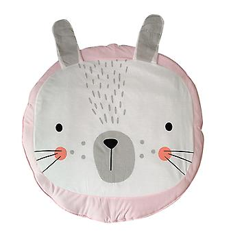 YANGFAN Baby Round Rug Cartoon Animal Carpet