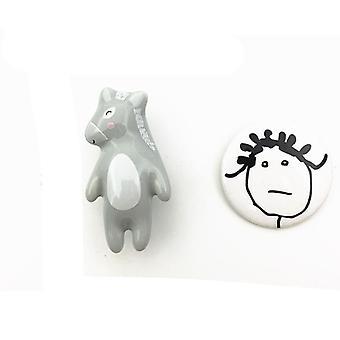 Panda Fox Koala Donkey Shaped Room Hardware Museum Cabinet Drawer