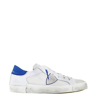 Philippe Model Prluvr05 Men's White Leather Sneakers