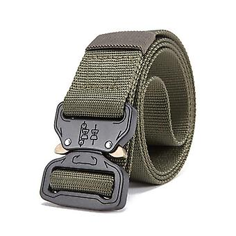 Militaire uitrusting Combat Tactical Belts, Us Army Training, Nylon Metal Buckle
