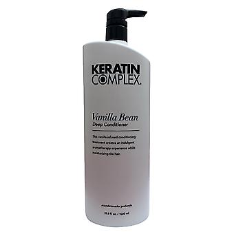 Keratin Complex Vanilla Bean Deep Conditioner 33.8 oz