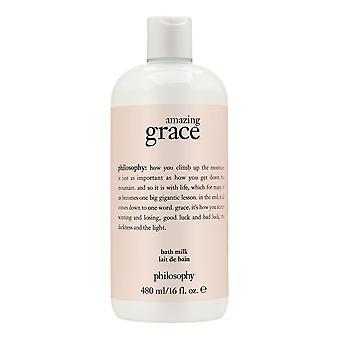 Philosophy amazing grace 16.0 oz bath milk
