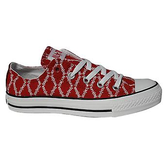 Converse Chuck Taylor All Star Red Edition Lo Top Unisex Trainers 102089F B37C