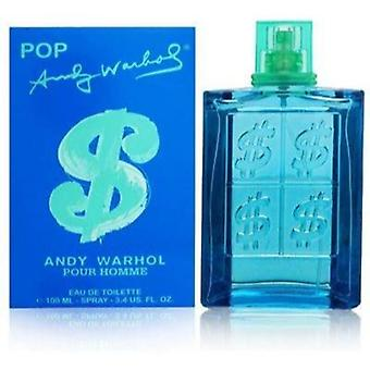 Andy Warhol Pop Eau De Toilette 100ml Spray For Him