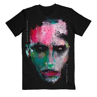 Marilyn Manson We Are Chaos Cover Official Tee T-Shirt Mens Unisex
