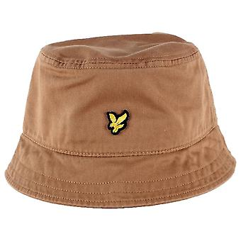 Lyle and Scott Bucket Hat - Tawny Brown