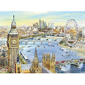 1000 Pieces Jigsaw Puzzles for Adults - Palace of Westminster and The Elizabeth Tower