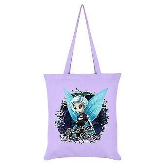 Hexxie Make Your Own Magic Juniper Tote Bag