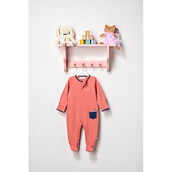 The Essential One Unisex Baby Sleepsuit Apricot