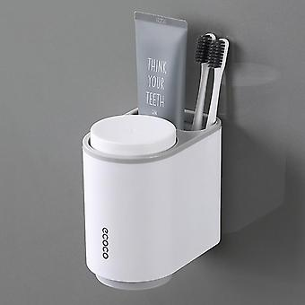 Automatic Toothpaste Toothbrush Holder  Wall