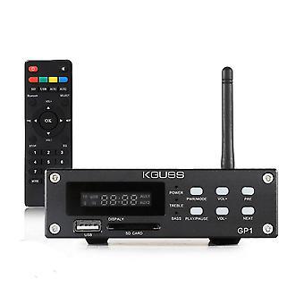 מגבר חשמל דיגיטלי נטול אובדן אובדן אונים של KGUSS GP1 Bluetooth 4.0 18Wx2+40W HIFI ללא אובדן כוח עם תמיכה בשלט רחוק