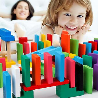 Domino Game Wooden Educational