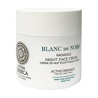 Blanc de Noirs Radiance Night Face Cream 50 ml of cream