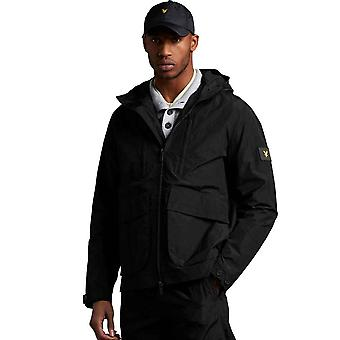 Lyle & Scott Casuals Hooded Jacket - Jet Black
