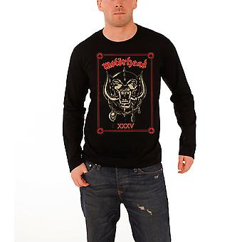 Motorhead T Shirt Mens Black Propaganda 35th Anniversary Official long sleeve