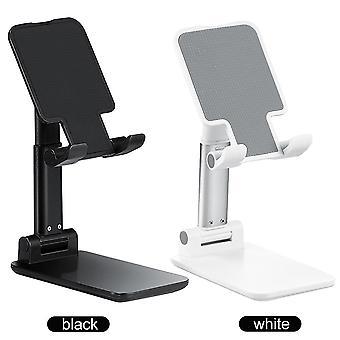 Teleskooppinen taittuva älypuhelin, tablettiteline, työpöydän taitettava, puhelimen pidike