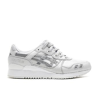 Asics women's gel lyte iii trainers white grey hl7e7