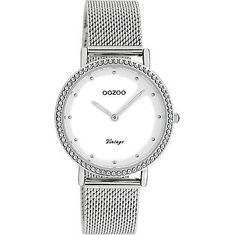 Oozoo - Women's Watch - C20050 - Silver White