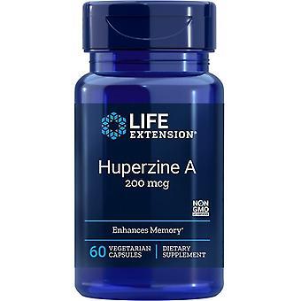 Estensione di vita Huperzine A 200mcg Vegicaps 60