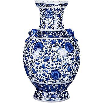 Keramik handgefertigte Handwerk Doppel Löwe Ohr Flasche