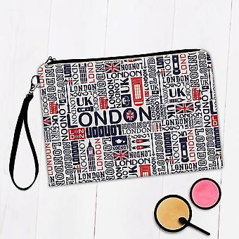Torba na makijaż prezentów: London Pattern Travelling